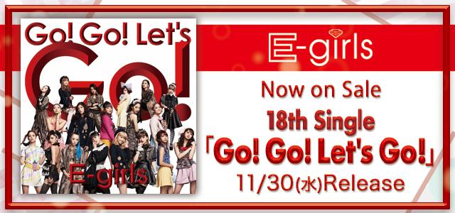 18th Single 「Go! Go! Let's Go!」