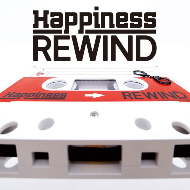 Happiness 10th Single『REWIND』 2.8(水) Release!